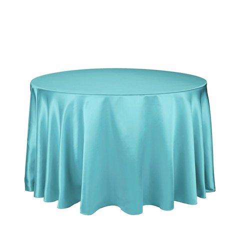 Turquoise 120 Round - Satin