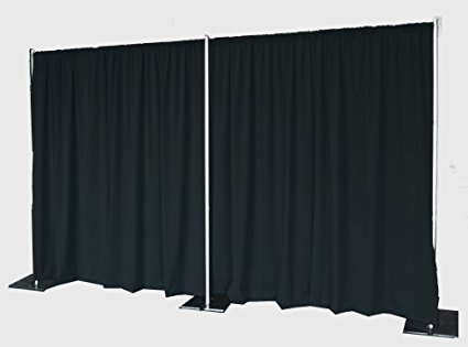 Black Pipe & Drape 20FT