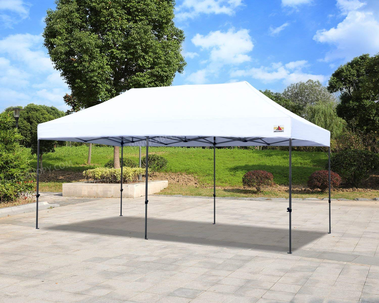 White 10x20 Canopy Tent