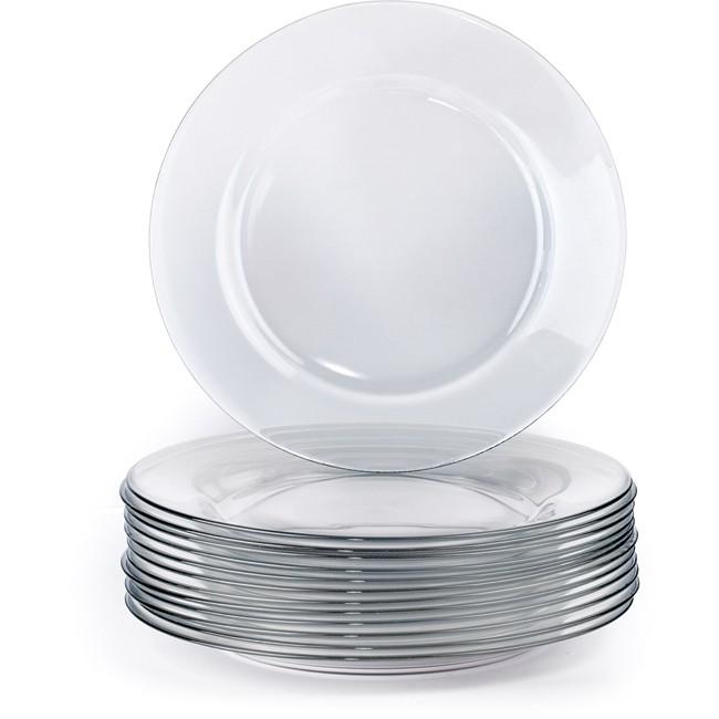 Glass Dinner Plate