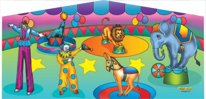 Circus Art Panel