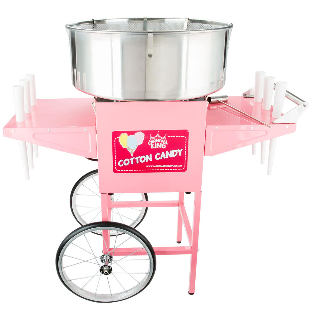 Cotton Candy Machine w/ Cart