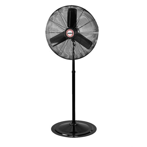30in Industrial Pedestal Fan