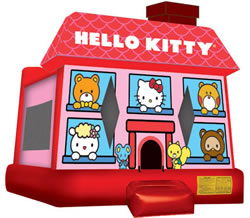 Licensed Theme 3D Hello Kitty Bouncer