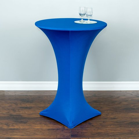Royal Blue Spandex Cocktail