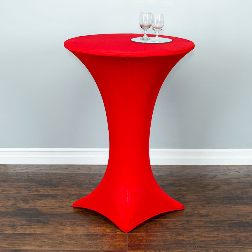 SPANDEX COCKTAIL TABLECLOTH