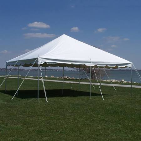 20X20 White Canopy Tent