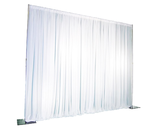 White Pipe & Drape 10FT