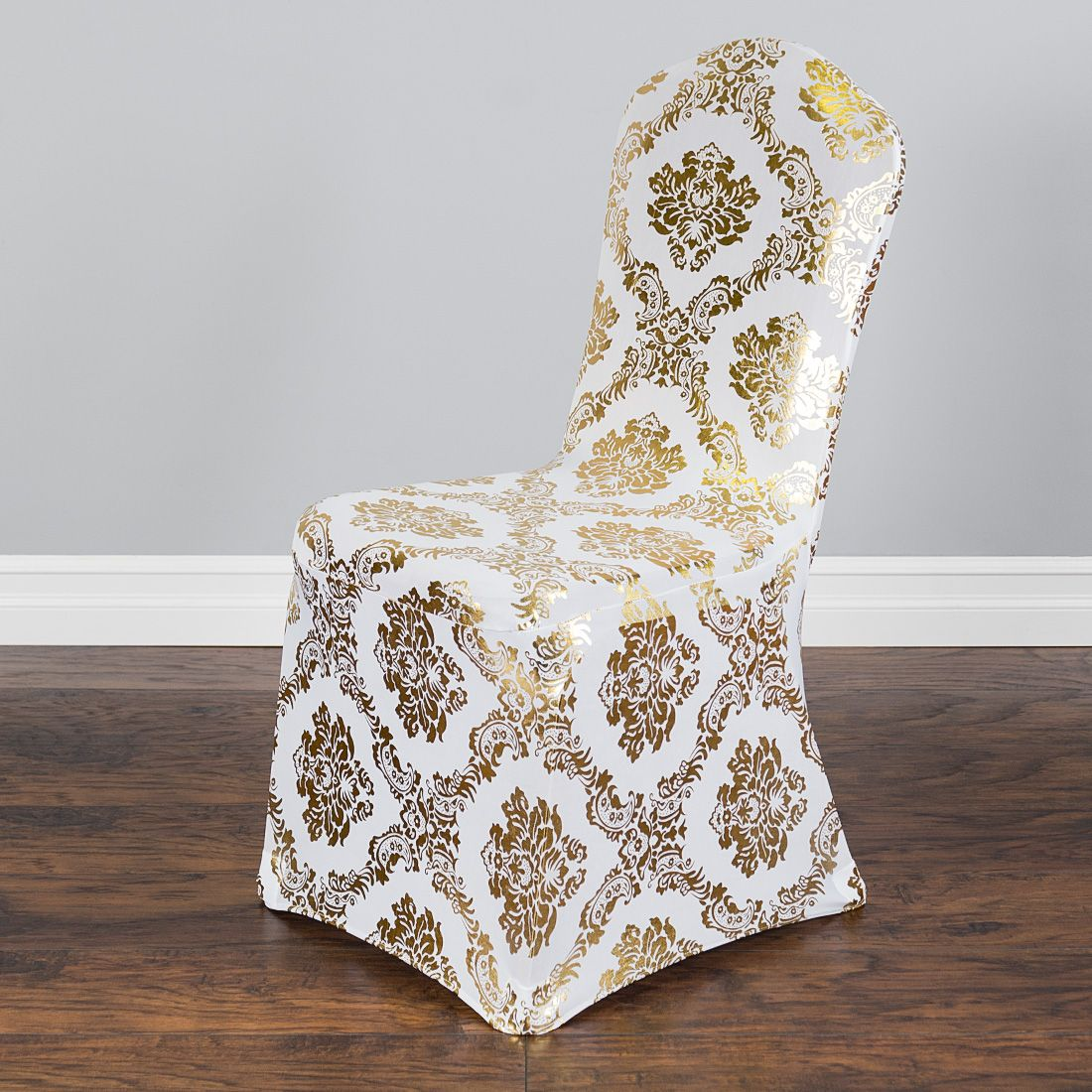 Gold Metallic Damask