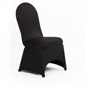 stretch banquet chair cover black 1 orlando fun party rentals
