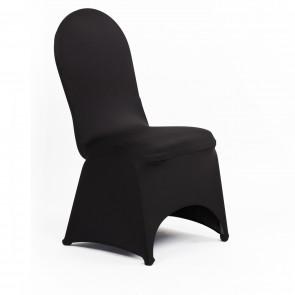 Black Banquet Spandex Chair Cover