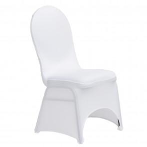 White Banquet Spandex Chair Cover