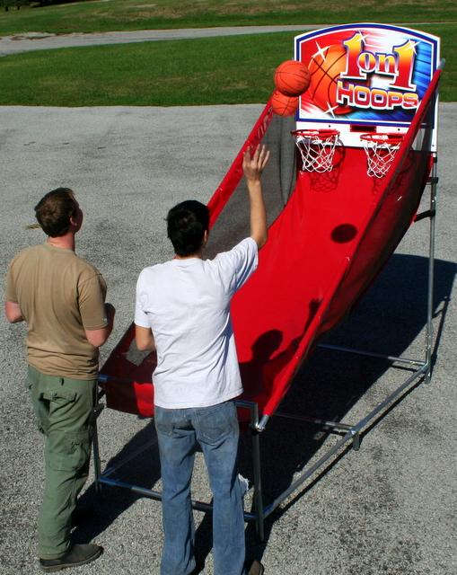 Electronic Basketball Hoops
