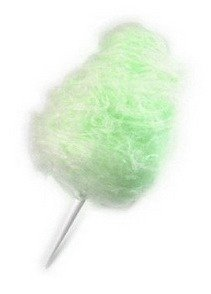 Green Lime Cotton Candy