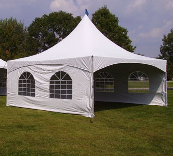 20x20 High Peak Tent w/ Sides