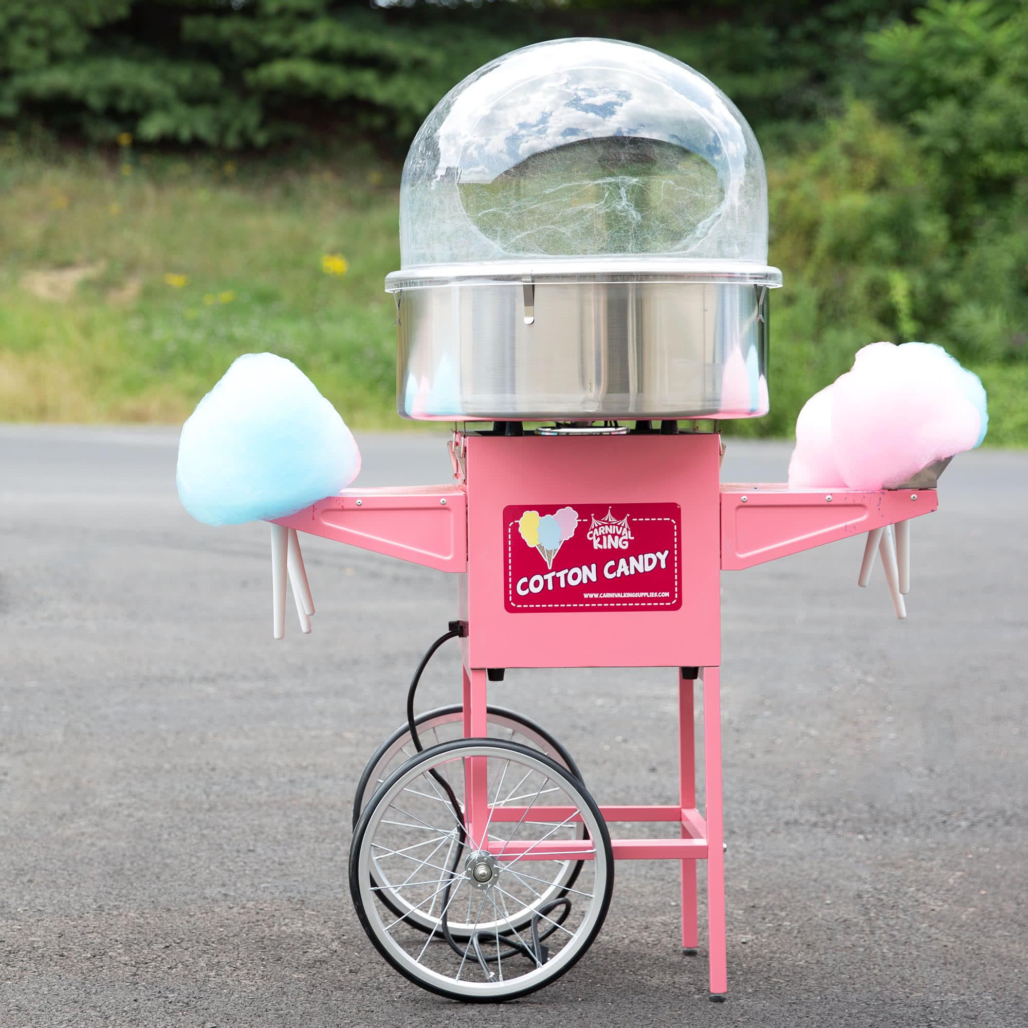 Economy Cotton Candy Machine w/ Cart