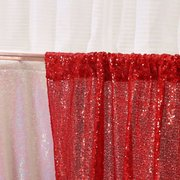 Red Sequin Backdrop